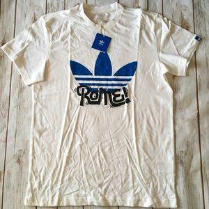 Adidas Rome 🇮🇹 Tee Sz M
